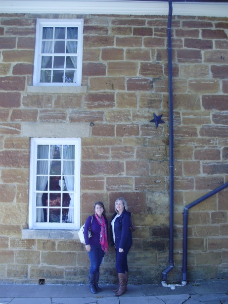 Jen and I outside of Carthage Jail.