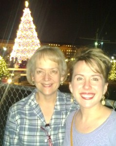 Me and my mom at the National Christmas Tree.