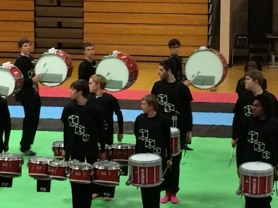 Blake's final Winter Drumline performance.