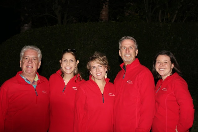 Our matching Institute staff  pullovers.