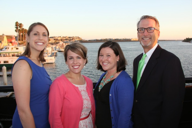 Institute Staff at West Institute aboard the Entertainer Yacht.