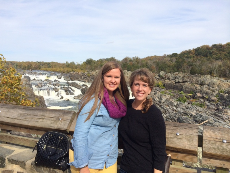 Lacey and I at Great Falls.