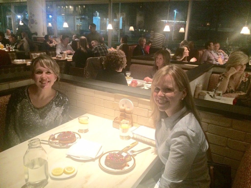 Katie and I went out to the new Founding Farmers in Tysons to catch up on life and celebrate her birthday.