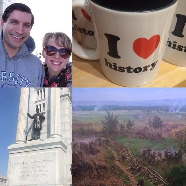 A group of us went to Gettysburg, PA. Unfortunately I don't have a picture of the whole group.