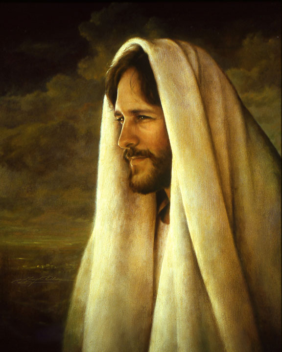 This is one of my most favorite paintings by Greg Olsen. It's called the Gentle Healer.