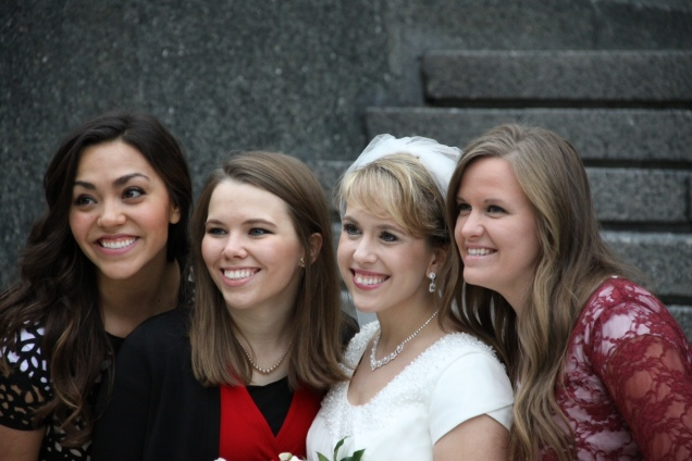 I served my LDS mission with these awesome ladies.