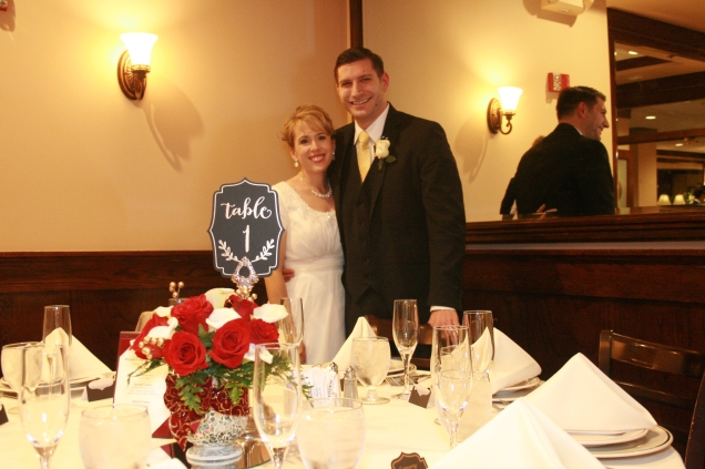 Our Wedding Luncheon was at Maggiano's - one of my most favorite restaurants!
