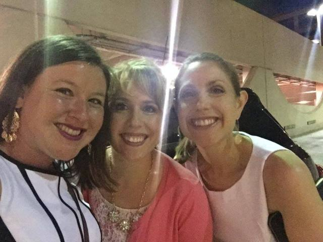 We forgot to take our traditional staff selfie at the Big Bash, so we took one afterwards in the parking lot.